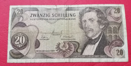 20 Schilling Austria  C8P13 - Austria