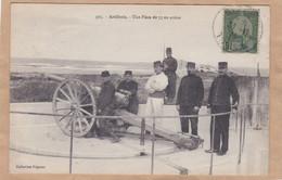 Artillerie Une Pièce De 75 En Action - Equipment