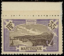 ** MARTINIQUE -  70 : 35c. Violet Et Brun, Dentelé 11, Bdf, TB, Cote Maury - Ohne Zuordnung