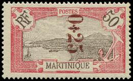 * MARTINIQUE -  109 : 0,25 Sur 50c. Rouge Et Brun, TB - Ohne Zuordnung