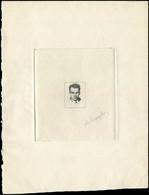 MONACO -  Rainier III, Epreuve D'Artiste En Noir Sans Faciale Signée Mazelin, TB - Used Stamps