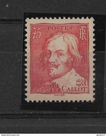 FRANCE  N° 306  **  NEUF SANS CHARNIERE - Unused Stamps