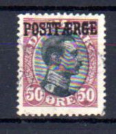 Danemark 1919-22, Christian X, 119 Ob, Cote 300 € - Gebruikt