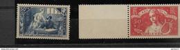 FRANCE  N° 307/8  **  NEUFS SANS CHARNIERE - Unused Stamps