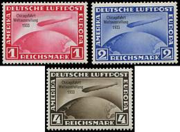 * Allemagne, EMPIRE - EMPIRE PA 42A/C : La Série, Chicagofahrt, TB - Airmail