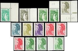 ** Sabine Et Liberté, 14 T. Différents, SANS PHOSPHO, Tous Signés, TB - Collections