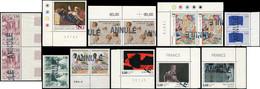 Lot De 10 TP Différents Des Années 1980-96 Surch. ANNULE, Dont 6 En PAIRES, La Plupart Bdf, TB. C - Collections