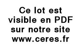 AEF Et AOF, Petit Ensemble D'oblitérations Diverses Sur Détachés, 66 Pièces, à étudier - Collezioni (in Album)