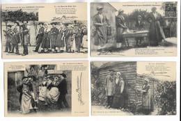 """Lot De 6 Cartes Postales """" Les Chansons De Jean Rameau, Illustrées """" - 5 - 99 Postcards"""