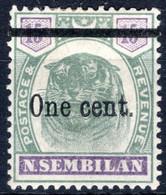 NEGRI SEMBILAN, Michel No.: 15 MH, Cat. Value: 120€ - Negri Sembilan