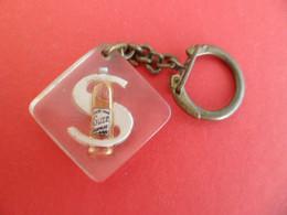 PC Keyring - Bourbon - Inclusion - à Bulle - Boisson Alcool SUZE  - S Blanc - Key-rings