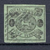 BRAUNSCHWEIG, Michel No.: 10 USED, Cat. Value: 300€ - Brunswick