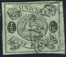 BRAUNSCHWEIG, Michel No.: 10Ax USED, Cat. Value: 300€ - Brunswick