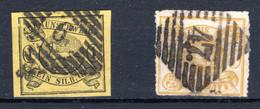 BRAUNSCHWEIG, Michel No.: 11, 14 USED, Cat. Value: 250€ - Brunswick