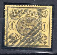BRAUNSCHWEIG, Michel No.: 11B USED, Cat. Value: 2000€ - Brunswick