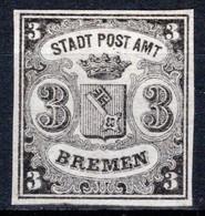 BREMEN, Michel No.: 1x MINT, Cat. Value: 280€ - Bremen