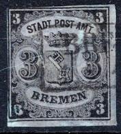 BREMEN, Michel No.: 1x USED, Cat. Value: 750€ - Bremen