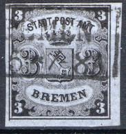 BREMEN, Michel No.: 1y USED, Cat. Value: 350€ - Bremen