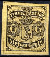 BREMEN, Michel No.: 3b MH, Cat. Value: 1000€ - Bremen