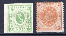 BREMEN, Michel No.: 4c MH, Cat. Value: 250€ - Bremen