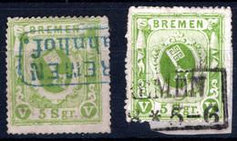 BREMEN, Michel No.: 9a, C USED, Cat. Value: 850€ - Bremen