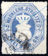 MECKLENBURG / STRELITZ, Michel No.: 5 USED, Cat. Value: 1000€ - Mecklenburg-Strelitz