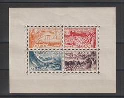 Maroc 1949 Au Profit Des Oeuvres BF 1 * Charnière MH - Blocchi & Foglietti