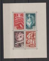 Maroc 1950 Au Profit Des Oeuvres BF 3 ** MNH - Blocchi & Foglietti