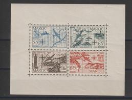 Maroc 1950 Au Profit Des Oeuvres BF 4 * Charnière MH - Blocchi & Foglietti