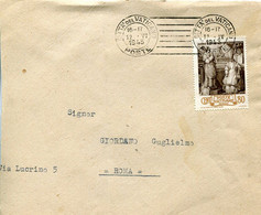 66440 Vaticano,circuled Cover With Stamp Episcopal Ordinatin Of Papst Pius XII And Postmark  12.6.1943 - Cartas