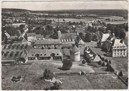 CPSM   En Avion Au Dessus De....MENOU 58  Le Château,l'église - Autres Communes
