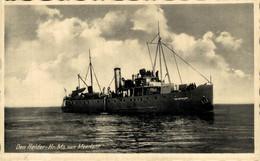 RPPC Den Helder Hr Ms Van Meerlant    BOAT SHIP BATEAUX BARCOS GUERRE WAR - Guerra