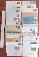 G - Lotto 50 Buste Storia Postale Italia - Collections