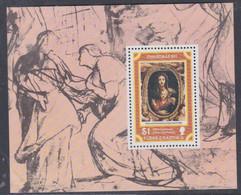 Turks Et Caiques BF N° 8 XX Noël  : Tableaux De P. P. Rubens  Le Bloc Sans Charnière, TB - Turks- En Caicoseilanden
