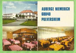 A164  CP   PULVERSHEIM  (Haut-Rhin)  AUBERGE NIEMERICH - Logis De France   ++++++++++++++ - Altri Comuni