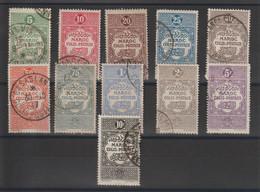 Maroc 1917 Série Colis Postaux 1-11, 11 Val Oblit. Used - Altri