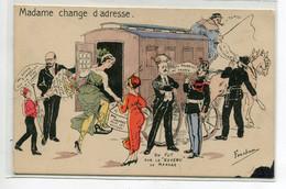 """JUSTICE Satirique   Proces Affaire """" Madame Change D'adrese  Illustrateur Fercham D19 2020 - Unclassified"""