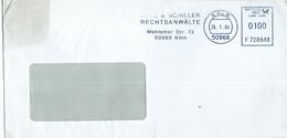 Germany - Koln Letter 2004 - ATM,Machine Stamp,EMA, Meter Stamp - Affrancature Meccaniche Rosse (EMA)