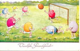 Vrolijk Paaschfeest Gelopen 18-4-1935 - Easter