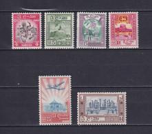 CEYLON 1958/62, SG# 450-460, Part Set, Nature, Architecture, Flowers, MLH - Sri Lanka (Ceylon) (1948-...)