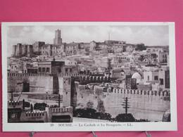 Tunisie - Sousse - La Casbah Et Les Remparts - R/verso - Tunisie