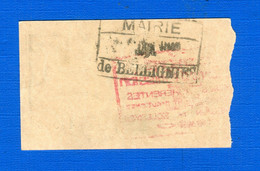Bellignies Mairie    25  Cents    59 . 570    Sup  16  / 5 / 1917  Neuf - Bonds & Basic Needs