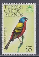 Turks Et Caiques N° 361 XX Série Courante : Oiseaux : 5 D, Sans Charnière, TB - Turks- En Caicoseilanden