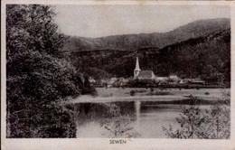 SEWEN    ( HAUT-RHIN )      ( SOUVENIR CAMPAGNE D ' ALSACE  1944 ) - Altri Comuni