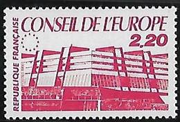 FRANCE  Timbres De Service:Conseil De L'Europe   N°94  Année 1986 - Neufs