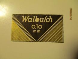 VINTAGE RAZOR BLADE WRAPPER WALBUSCH , 0 - Lamette Da Barba
