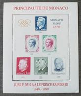 Monaco, Ensemble De  5 Blocs Neufs, Année 1999 - Unused Stamps