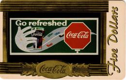 Télécarte US : Coca Cola Série Sprint Five Dollars 9 Sur 10 : Go Refreshed - Altri