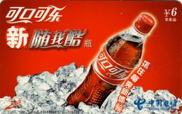 Télécarte CN : Coca Cola - Altri