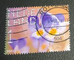 Nederland - NVPH - Xxxx - 2021 - Gebruikt - Cancelled - Beleef De Natuur - Duinviooltje - Used Stamps